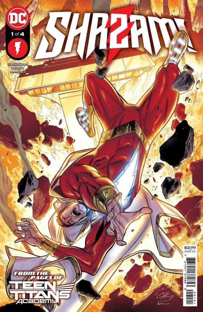 Shazam #1, copertina di Clayton Henry