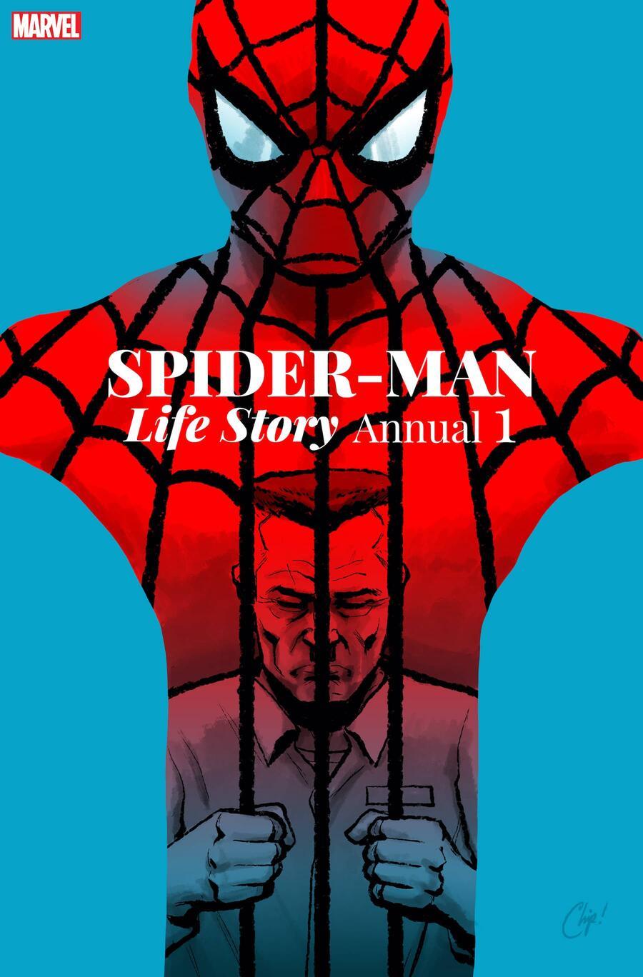 Spider-Man: Life Story Annual #1, copertina di Chip Zdarsky