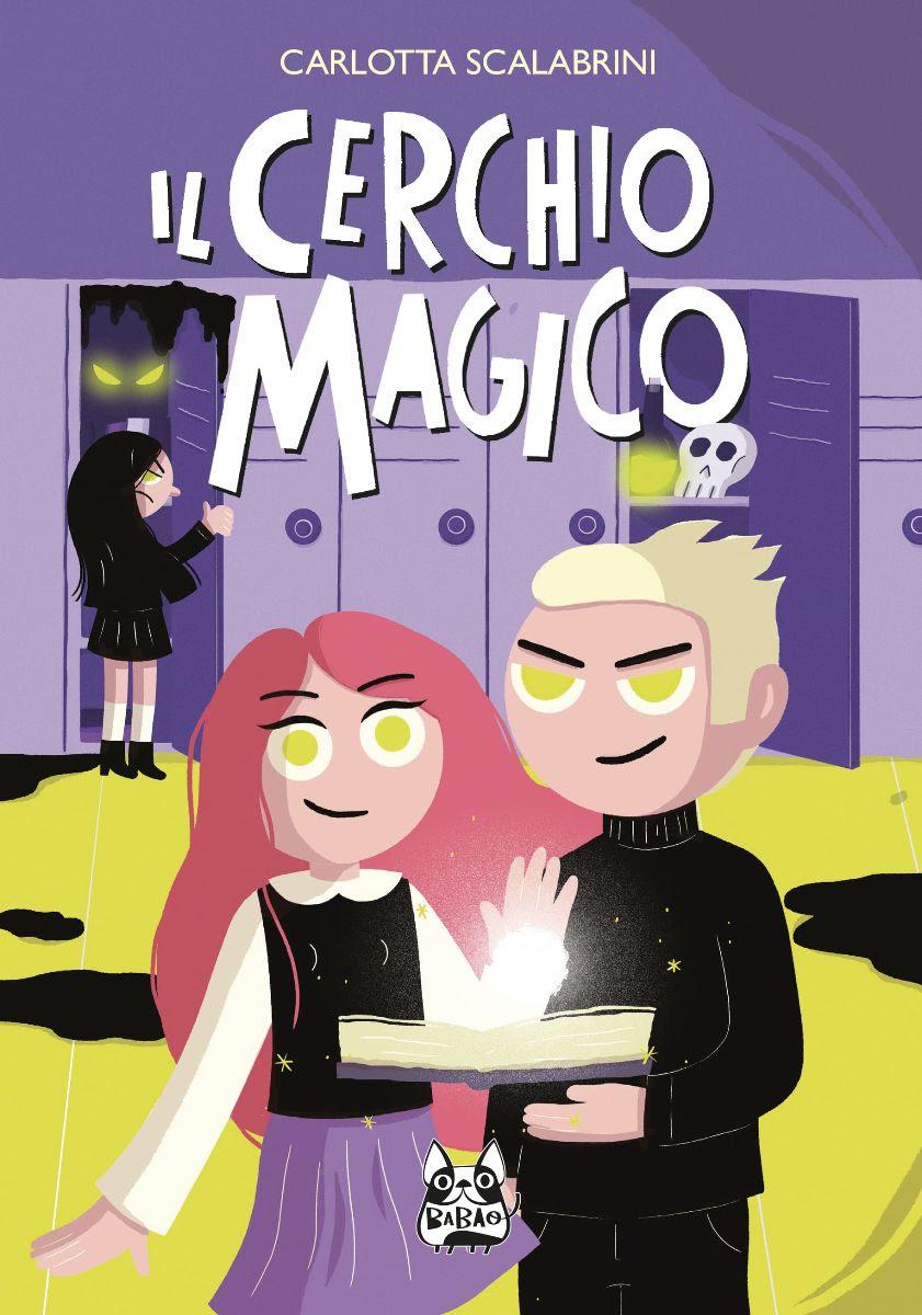 Il cerchio magico, copertina di Carlotta Scalabrini