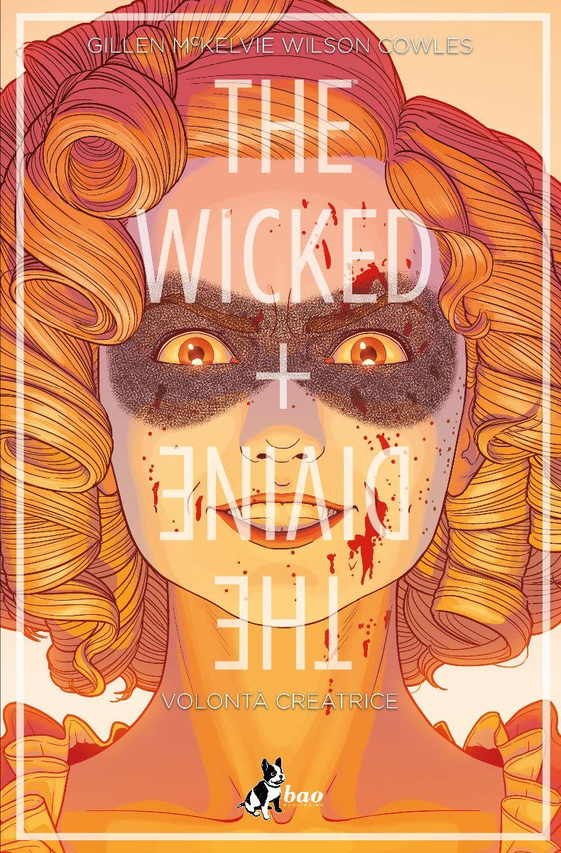 The Wicked + The Divine vol. 7: Volontà creatrice, copertina di Jamie McKelvie