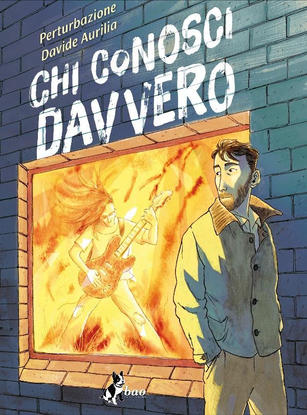 Chi conosci davvero, copertina di Davide Aurilia