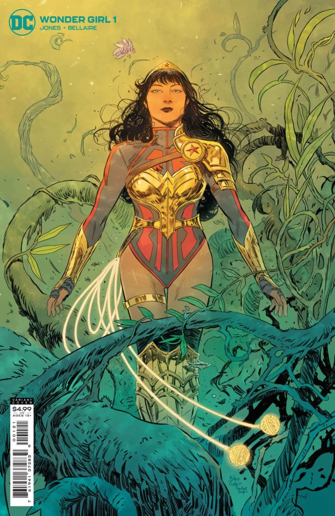Wonder Girl #1, variant cover di Bilquis Evely