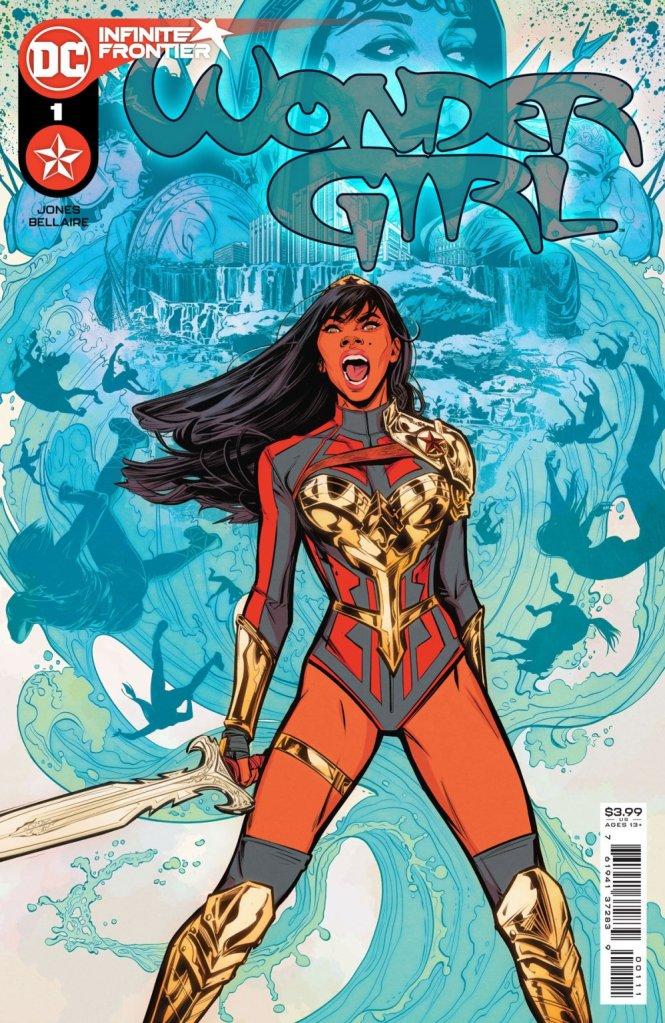 Wonder Girl #1, copertina di Joelle Jones