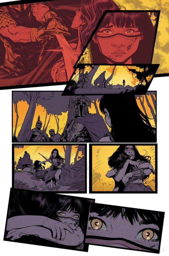 Wonder Girl #1, anteprima 05