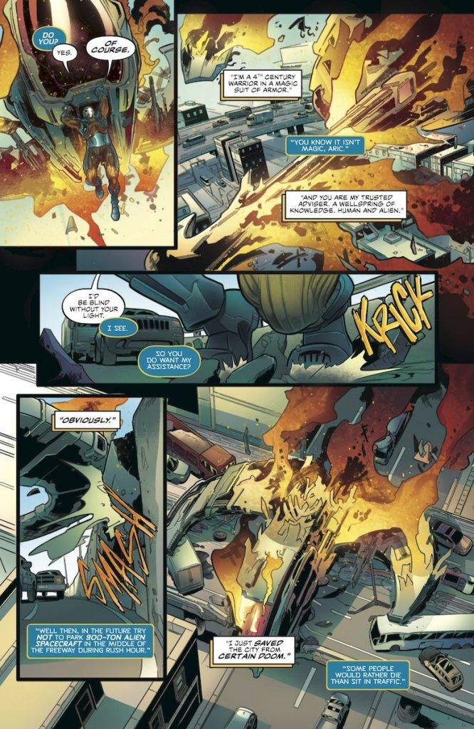 X-O Manowar #1, anteprima 03
