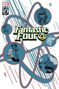 Fantastic Four: Life Story, copertina di Sean Izaakse