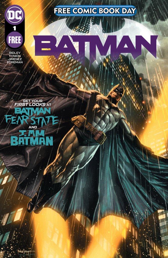 Batman Free Comic Book Day 2021 Special Edition, copertina di Mico Suayan