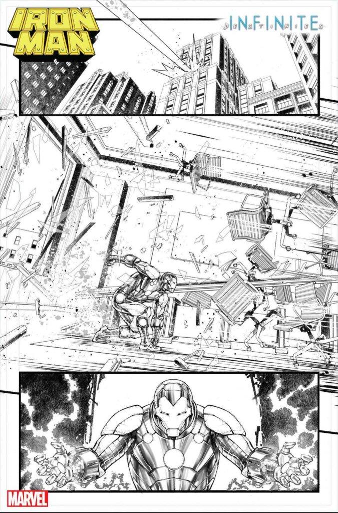 Iron Man Annual #1, anteprima 03 (bianco e nero)