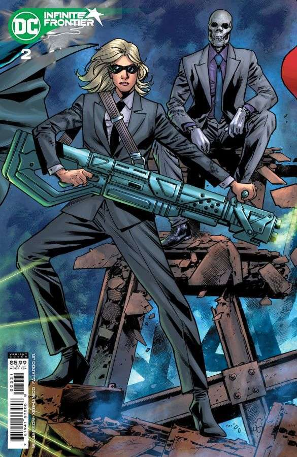 Infinite Frontier #2, variant cover di Bryan Hitch