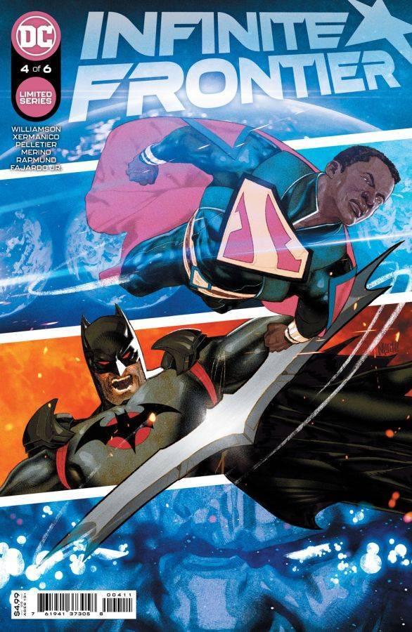 Infinite Frontier #4, copertina di Mitch Gerads