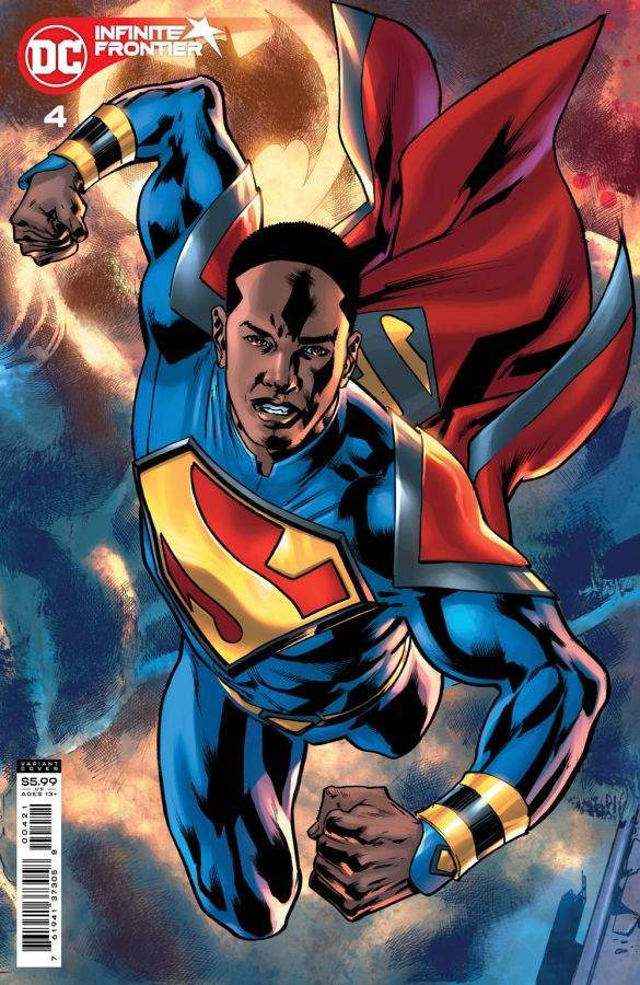 Infinite Frontier #4, variant cover di Bryan Hitch
