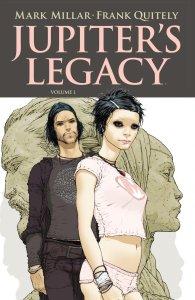 Jupiter's Legacy, copertina di Frank Quitely
