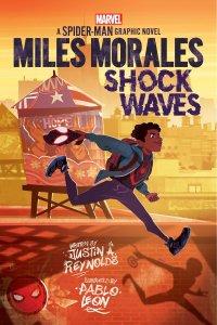 Miles Morales: Shock Waves, copertina di Pablo Leon