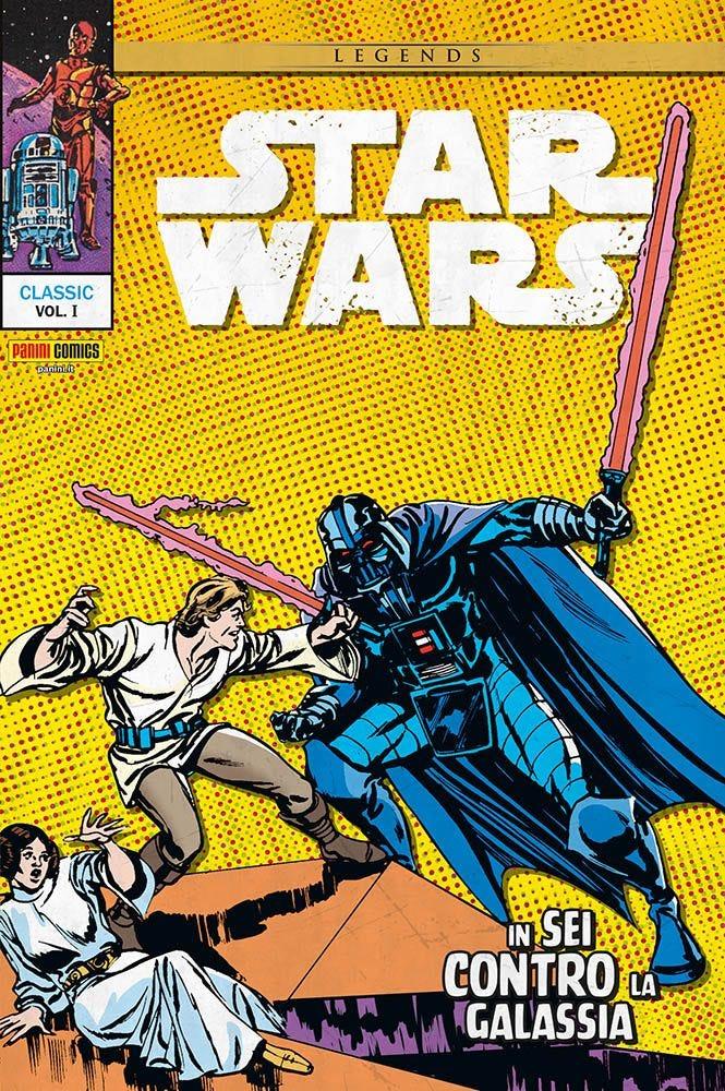 Star Wars Classic vol. 1, copertina