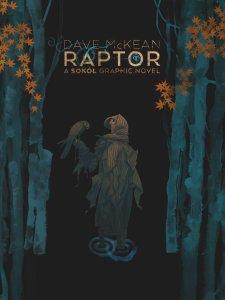Raptor: A Sokol Graphic Novel, copertina di Dave McKean