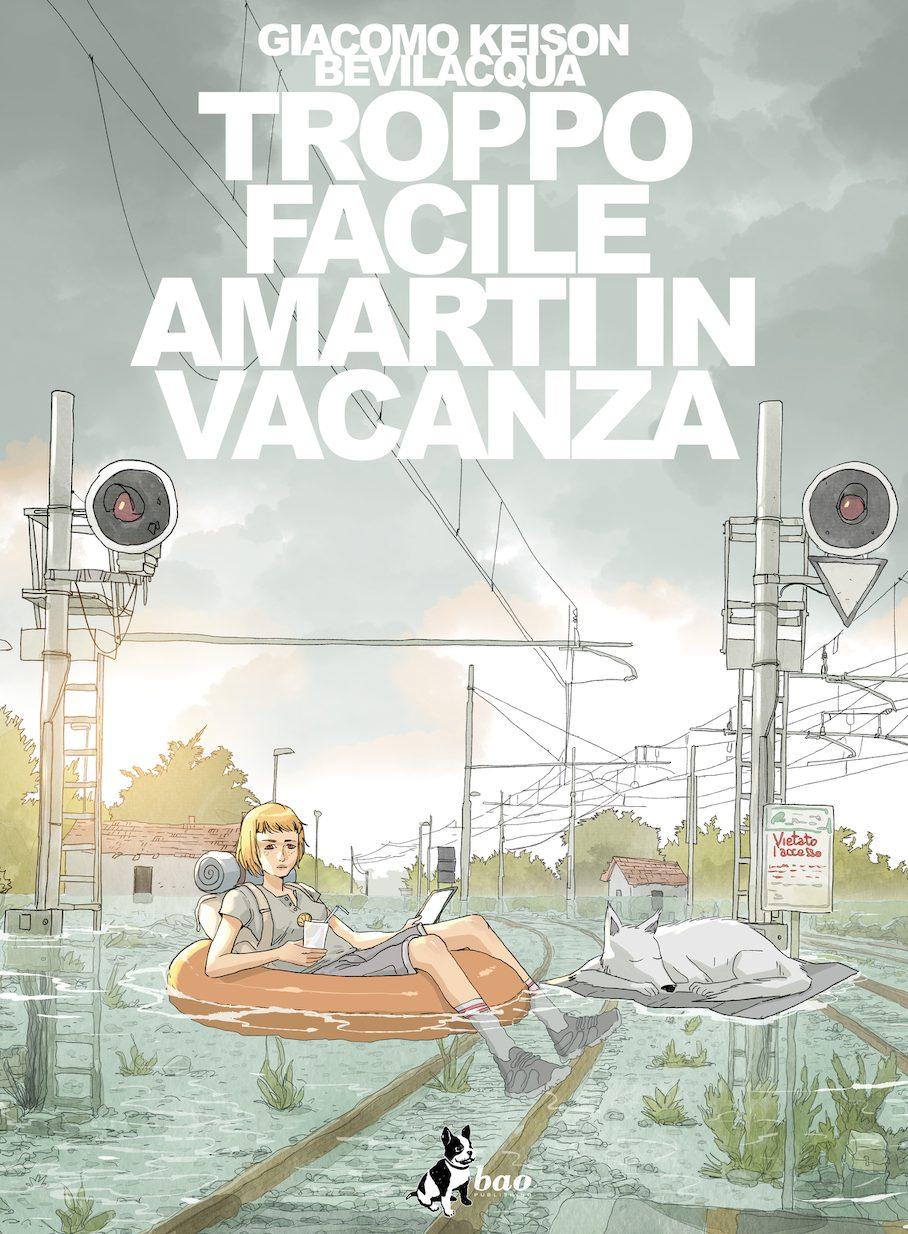Troppo facile amarti in vacanza, copertina di Giacomo Bevilacqua