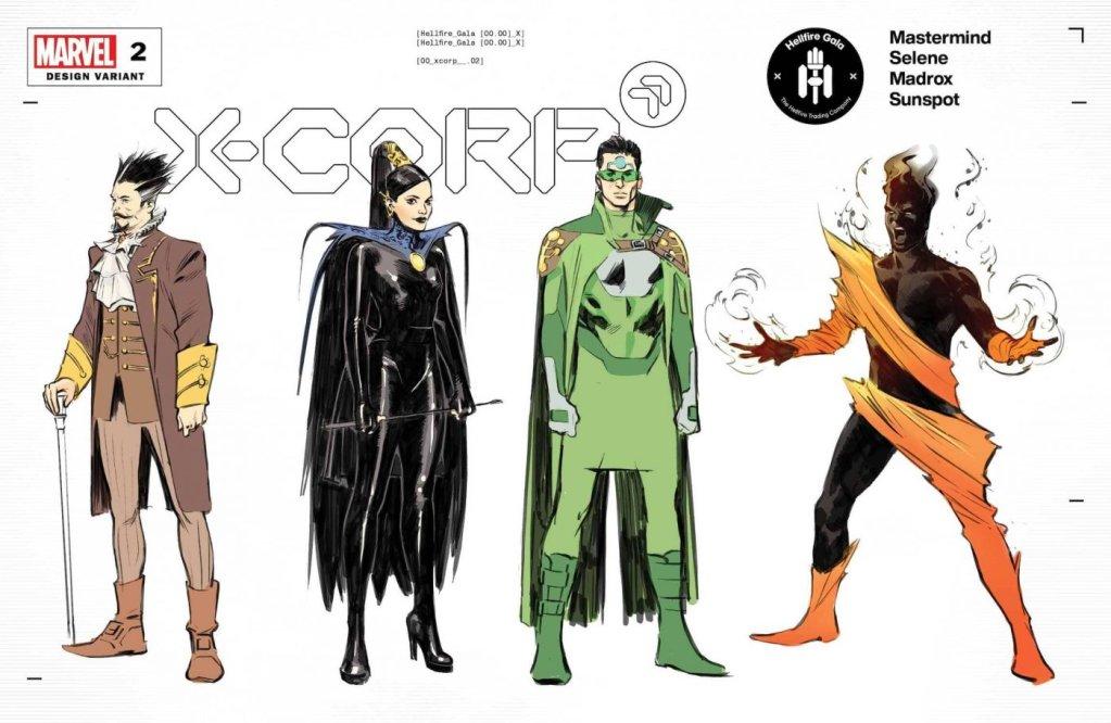 X-Corp #2, variant cover di Alberto Foche