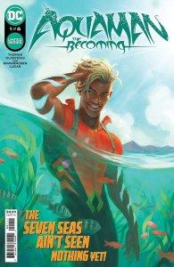 Aquaman: The Becoming #1, copertina di Diego Olortegui