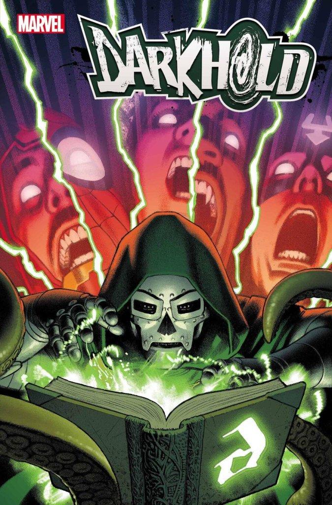Darkhold Alpha #1, copertina di Greg Smallwood