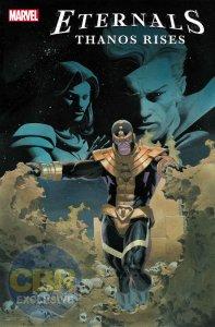 Eternals: Thanos Rises, copertina di Esad Ribic