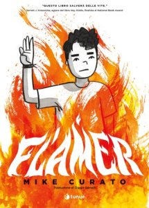 Flamer, copertina di Mike Curato