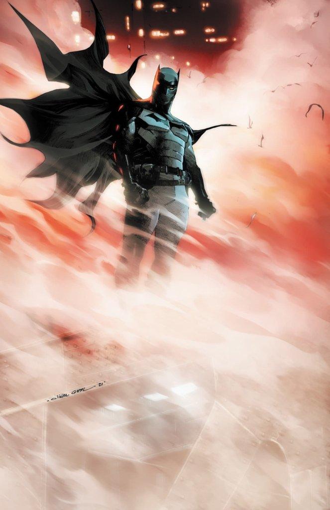 I Am Batman #1, copertina di Olivier Coipel
