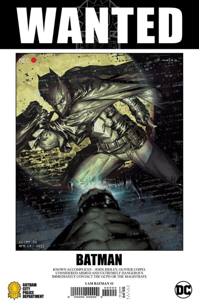 I Am Batman #1, variant cover di Gabriella Dell'Otto