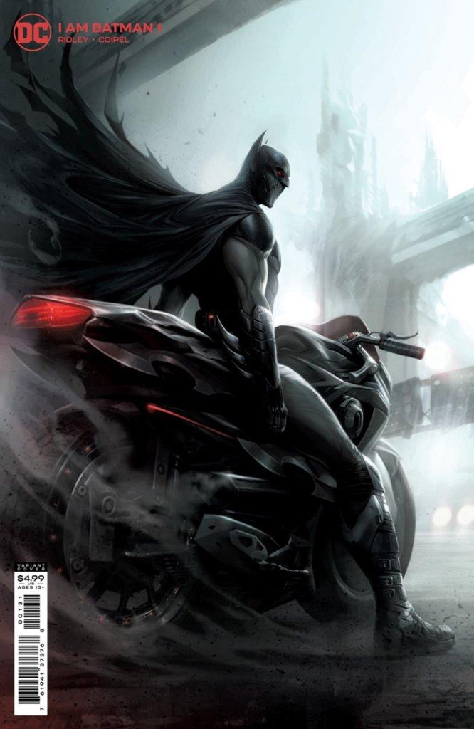 I Am Batman #1, variant cover di Francesco Mattina