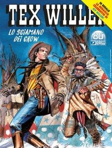Tex Willer 31: lo sciamano dei Crow, copertina di Maurizio Dotti