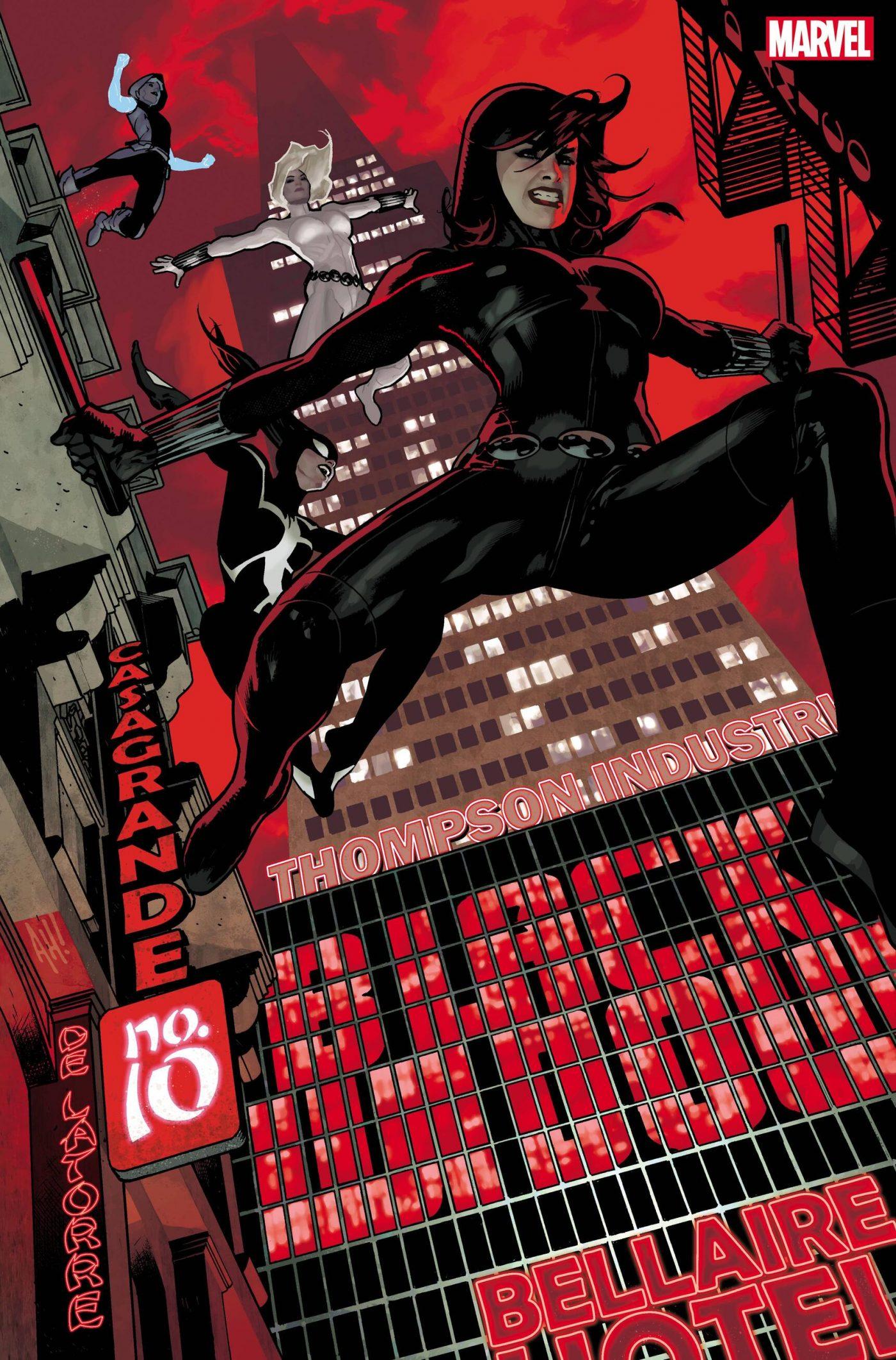 Black Widow #10, copertina di Adam Hughes