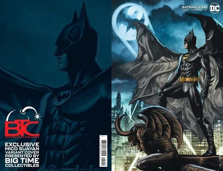 Batman '89 #1, variant cover di Mico Suayan