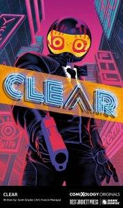 Clear, copertina di Francis Manapul