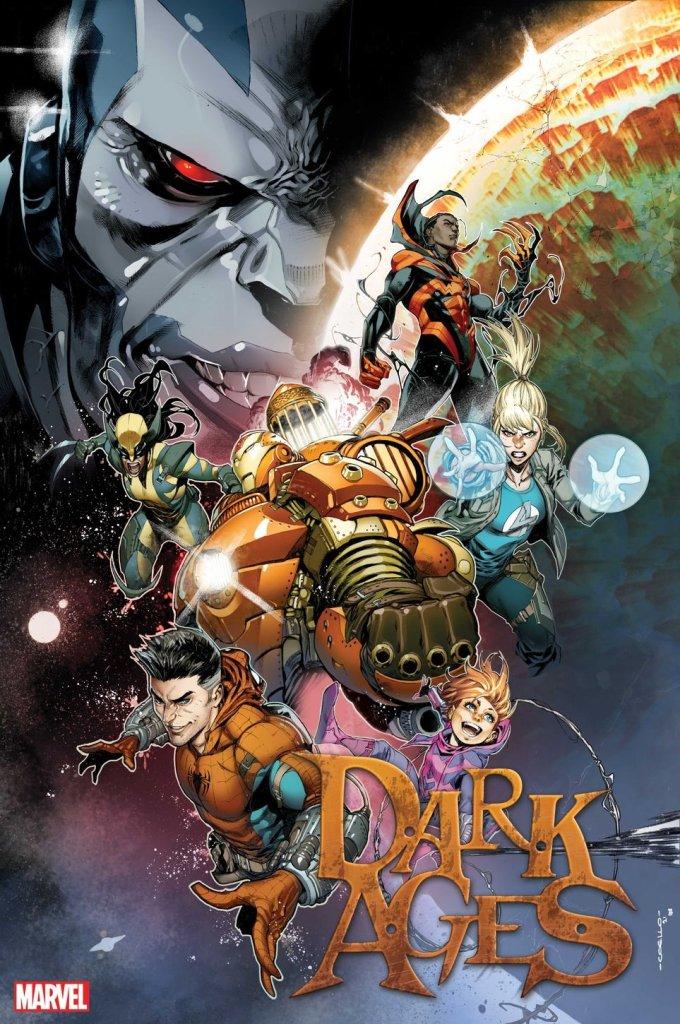 Dark Ages #2, copertina di Iban Coello