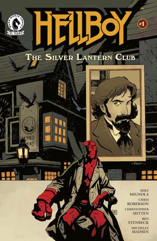 Hellboy: The Silver Lantern Club #1, copertina di Mike Mignola e Christopher Mitten