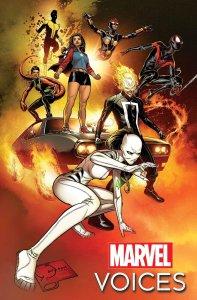 Marvel's Voices: Comunidades #1, copertina di Joe Quesada