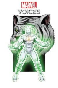 Marvel's Voices: Comunidades #1, variant cover di George Perez e Java Tartaglia