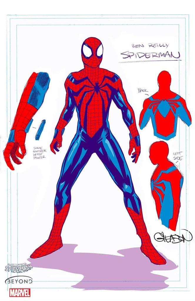 Spider-Man Beyond, character design di Patrick Gleason