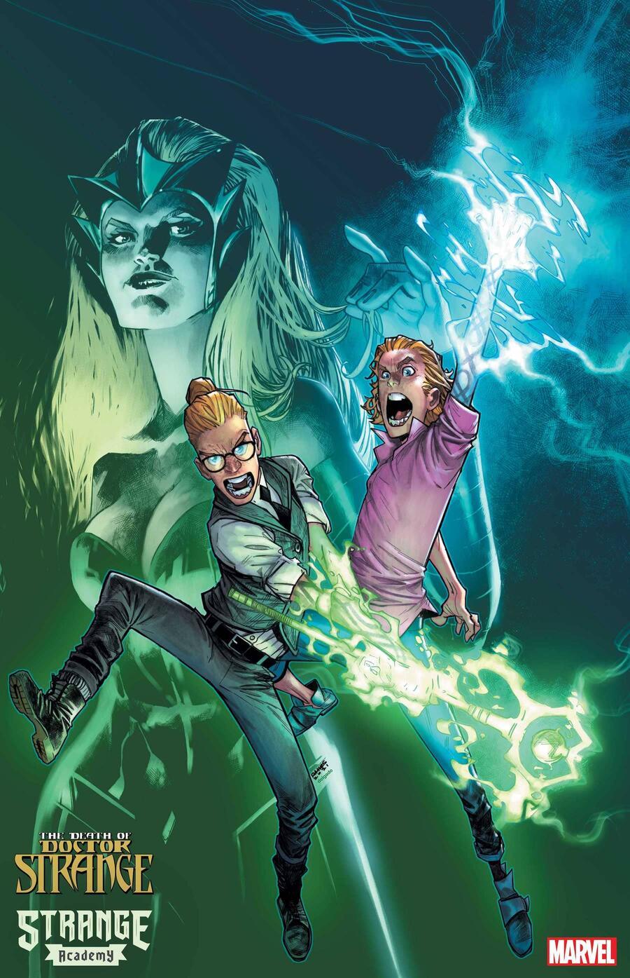 Strange Academy Presents: Death Of Doctor Strange #1, copertina di Humberto Ramos