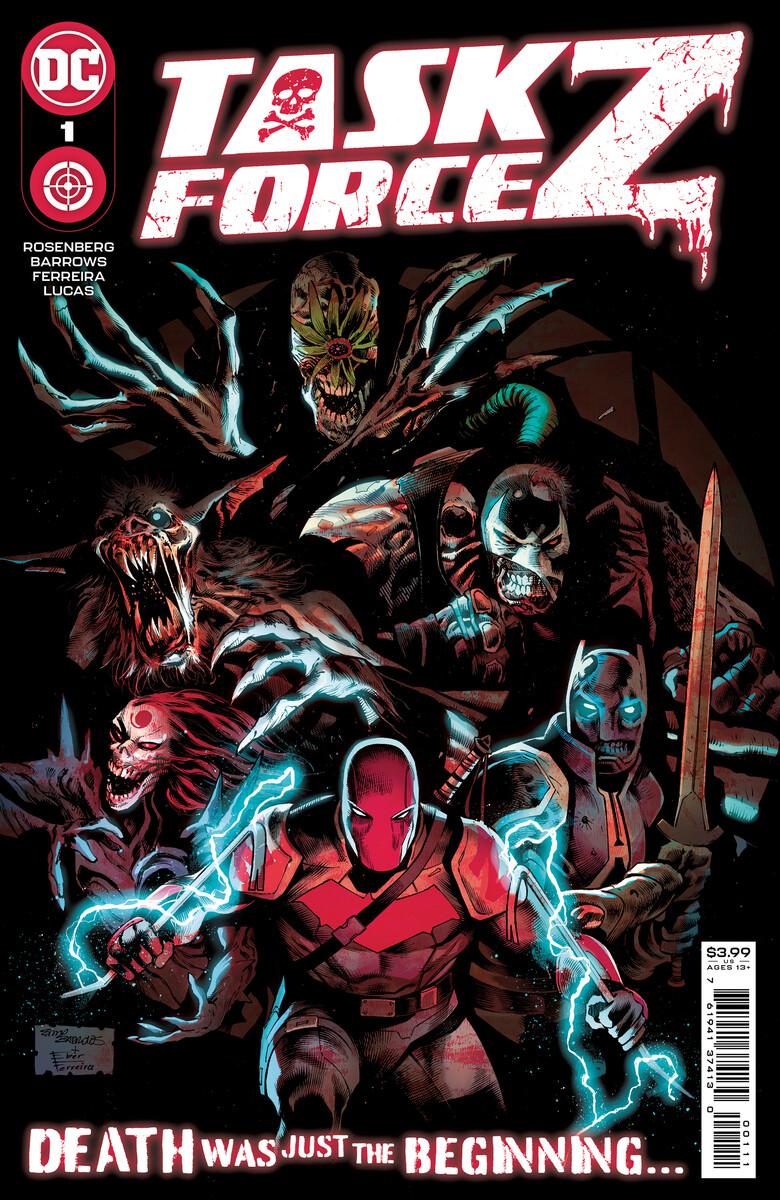 Task Force Z #1, copertina di Eddy Barrows