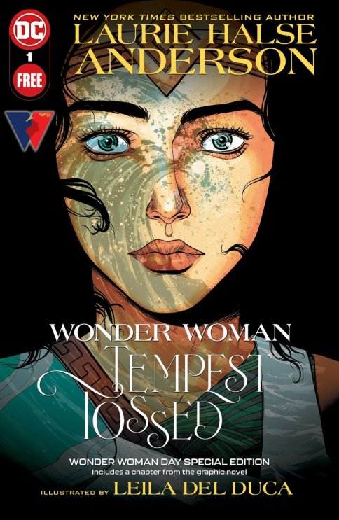 Wonder Woman: Tempest Tossed - Free Special Edition, copertina