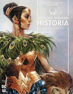 Wonder Woman Historia: The Amazons, copertina