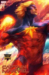 Captain Marvel #32, variant cover di Artgerm