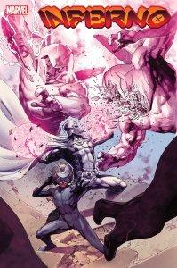 Inferno #3, copertina di Jerome Opeña