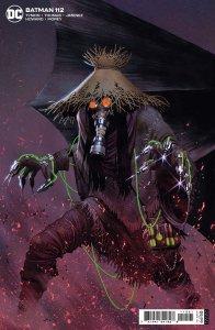 Batman #112, variant cover di Jorge Molina