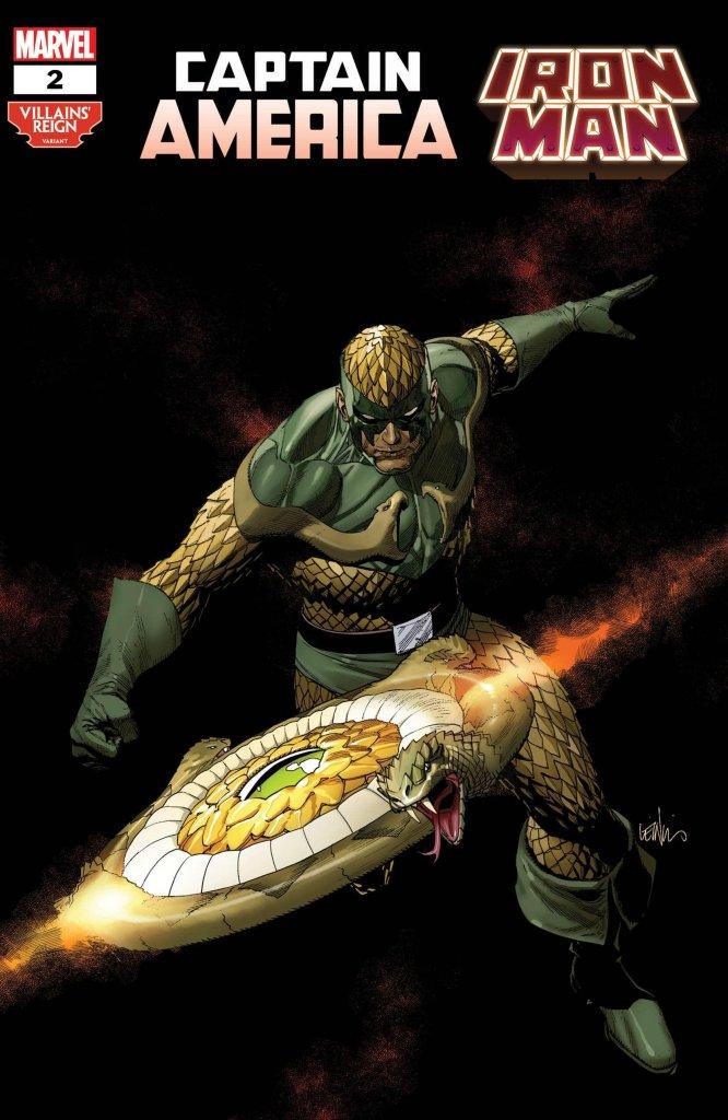 Captain America/Iron Man #2, variant cover di Leinil Francis Yu
