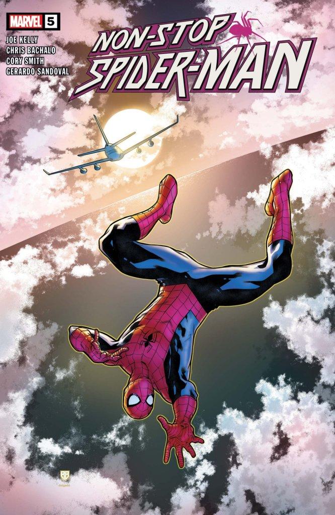 Non-Stop Spider-Man #5, copertina di R.B. Silva