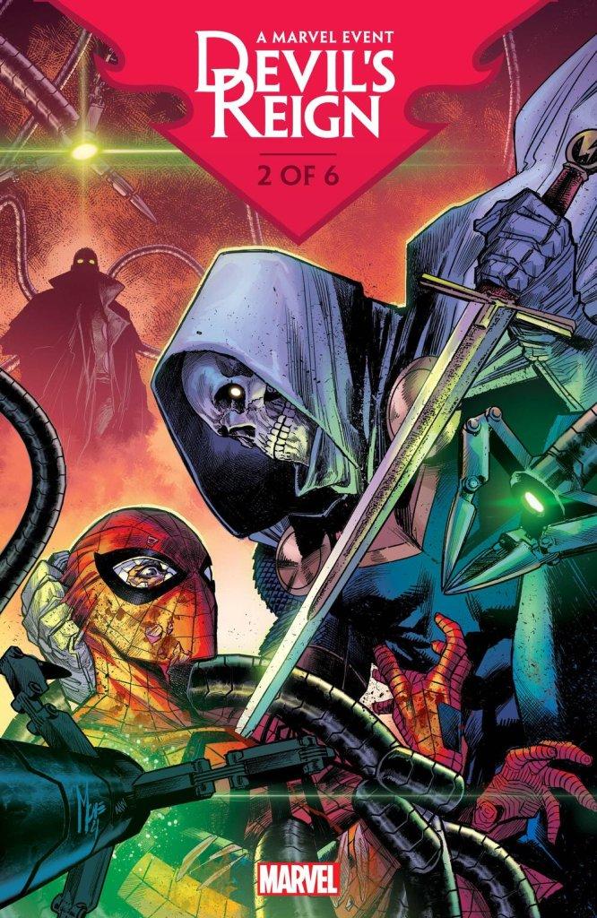 Devil's Reign #2, copertina di Marco Checchetto