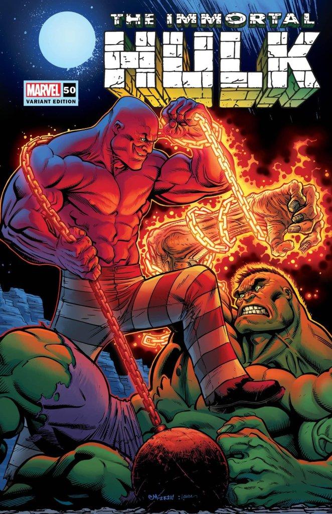 Immortal Hulk #50, variant cover di Ed McGuinness