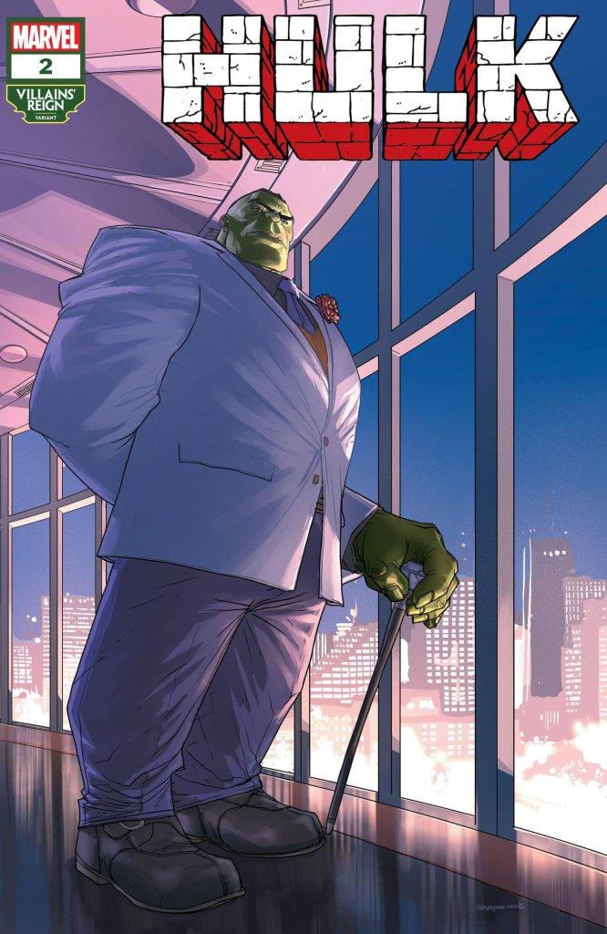 Hulk #2, variant cover di Pete Woods