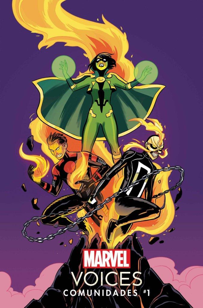 Marvel's Voices: Comunidades #1, copertina di Natacha Bustos